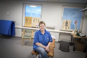 Närvårdschefen Barbro Blom är nöjd med flytten av hälsocentralen.