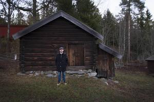 I denna bod på Norra Berget fick Patrik för första gången prova på smide.