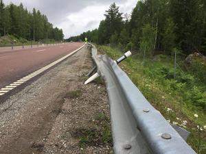 Dödsolycka på väg 66 utanför Virsbo.