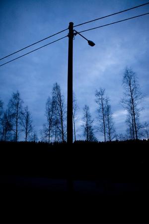 1 500 gatlysen ska tändas på Örnsköldsviks landsbygd.