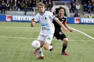 Johan Oremo skadade sig för sex veckor sedan. Han missar matchen mot IFK Göteborg men hoppas vara med igen hemma mot Djurgården i mitten av september.