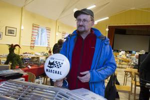Bengt Tjäder från Alfta sålde grejer.