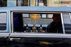 Sviten på Gran Hotel eller en limousine i Söderhamn?