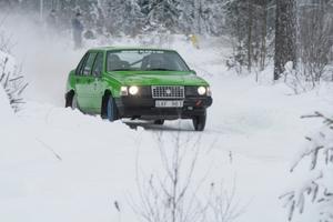 Tom Carlsson Laxå MK rattade sin Volvo 940 till seger i klassen för tvåhjulsdrivna bilar.