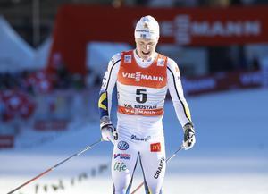 Jens Burman blev näst bäste svensk i jaktstarten med sin 17:e plats.