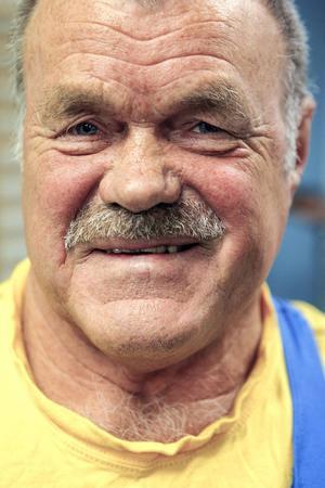 Kari Mattila fortsätter att övertyga i styrkelyftningens veteranklass. I Eskilstuna kom ännu ett SM-guld.   Arkivbild: Johan Axelsson
