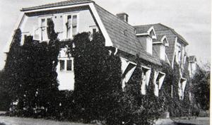 Sjukstuga. Vilhelminahemmet inreddes för att enbart ta emot dem som drabbats hårdast av spanska sjukan.