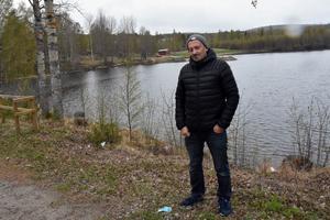 Kerstins Udde har börjat ta emot asylsökande igen, något Patrick Hollinger, föreningens ordförande, är mycket glad för.