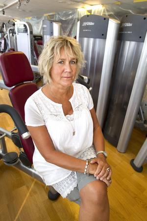 Kämpar mot dopning. Marie Johansson är verksamhetschef på Friskis och Svettis, där gymbesökare kan bli utvalda för att genomgå dopningskontroll. Foto: Kenneth Hudd