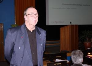 Kurt R Lindgren yrkade avslag till förslaget om att införa utmanarrätten i Heby kommun.