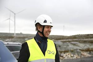 Jonas Carlehed, IKEA, besökte ett blåsigt Glötesvålen.