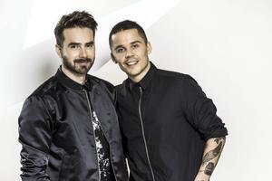 Albin & Mattias tävlar i Melodifestivalen med låten
