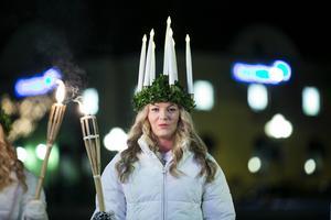 Maria Ulvenvall är årets lucia i Falun.