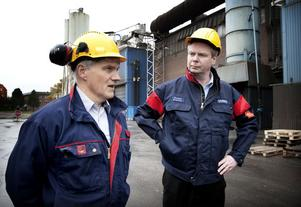 Kjell Nygren och Rickard Qvarfort.