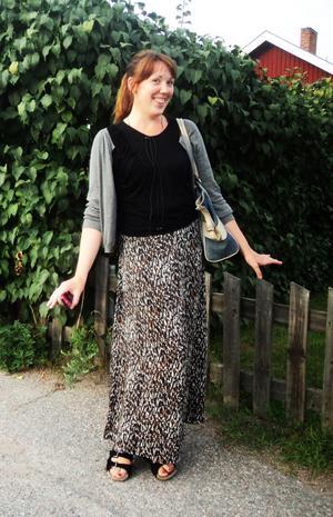 Gärna danskt. Gina Emanuelsson gillar kläder med bra kvalité, danska klädmärken som Inwear, Depart 2 och Vila.