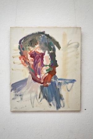 Carl Köhler. Ett självporträtt.