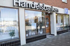 Rånaren slog till mot Handelsbankens kontor i Skärplinge.
