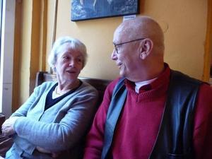 Det var inte bättre förr. Där är syskonen Bernd och Ingrid helt överens.