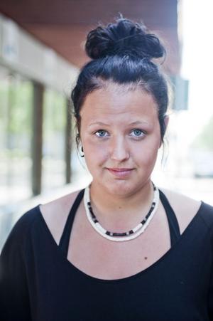 Sara Modin, 18 år, Gävle:– Ingen alls. Det är lättast att få jobb genom kontakter.