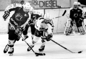 Conny Jansson, SSK-trogen hela 1980-talet, nätade när laget tog sin första seger i sudden death.