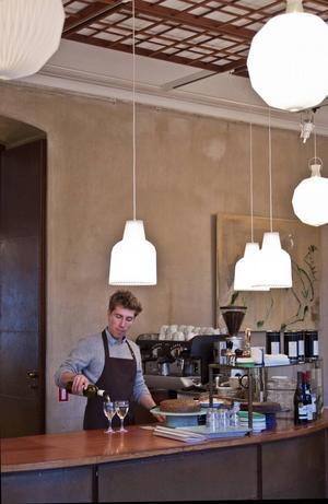 Cafe Klint är ett budgetvänligt lunchställe på Designmuseet i Köpenhamn.   Foto: Annika Goldhammer