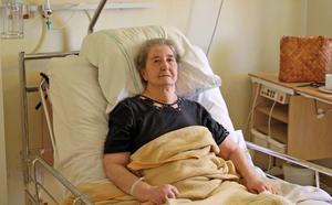 Det senaste halvåret har varit jobbigt för Elisabeth Olsson. När det var som värst låg hon en vecka i respirator.