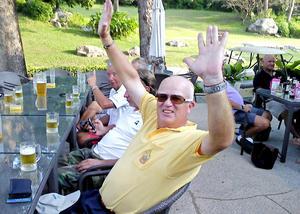 Carl Edblom gjorde hole in one i Thailand.
