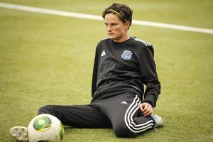 Melinda Ingalls gör sin tredje säsong i ÖDFF och hon kom nyligen till Östersund från sin hemmaort i USA.