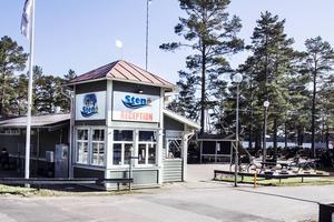 En ny restaurang- och servicebyggnad planeras på Stenö camping.