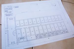 Ritningen till den nya anläggningen som kommer att byggas för att användas året om.