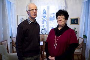 Per-Ingvar Hamrin och Gulli Larsson jobbar som familjerådgivare och numera är det också våra