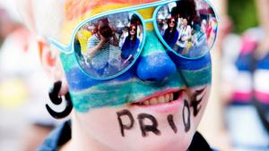 Från förra årets Pridefest i Västerås.
