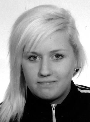Johanna Öberg, 18 år.