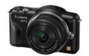 Panasonic Lumix GF3 ny systemkamera på 222 gram