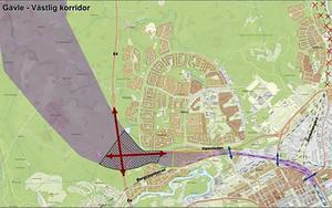 Planen för den nya järnvägsutfarten väster om Sätra innehåller en ny station i Tolvfors. Gävle Västra. En utveckling av Gävle Central till sex spår och ett nytt logistikcentrum i Tolvforsskogen.
