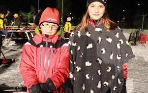 Syskonen Hampus,och Moa Karlsson, 7 och 11 år, från Storvik tävlade i Kextoppen för andra året. Hampus åkte med 9-10-åringarna som var yngsta klassen.