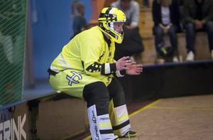 Fredrik Nilsson vred foten så att flera ledband gick av på H/B:s onsdagsträning.