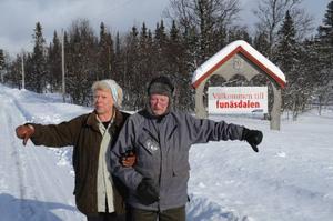 Funäsdalen har tagit över äganderätten på Högvålen som ortsnamn.– Detta är Högvålen och tilltaget bevisar med tydlighet på bristande känsla för övriga  orter i västra Härjedalen. Det anser Högvålsborna Ulla Halvarsson och Hugo Dahl.