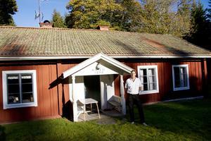 Olow Jansson och hans familj äger gården Lönnmora.