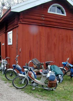 Klassiker. Hundratals klassiska mopeder väntas till Rättviksbygden i dag.