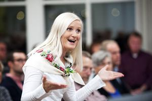 Camilla Last har varit ledare för Gustafskören i fem år. På söndag gör hon sin sista konsert med kören.