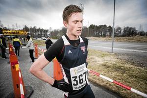 Martin Regborn inte bara orienterare – han är dessutom en grym löpare utan karta i handen. Under 2016 hann han med att bli femma på inomhus-SM på 3 000 meter och förbättra sina egna landsvägsrekord till 14.57 på fem kilometer och 30.29 på tio kilometer (arkivfoto).
