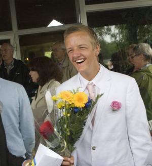 Mest roligt men lite jobbigt också. Det tyckte Viktor Nyström om att det var allra sista dagen på Norrsätraskolan.