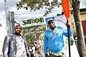 Initiativtagare. Artan Dhiblawe, från SIMON – Svenskar och Invandrare Mot Narkotika, och Said Mohamuud från Somaliska föreningen tog initiativet till kanotpaddlingen.