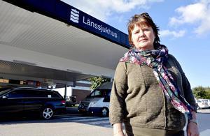 Åsa Holgersson,  Vårdförbundet. Fotograf: Ove Öst