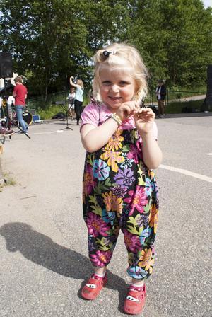 Michelle Wickström, 4, tyckte att låten från filmen