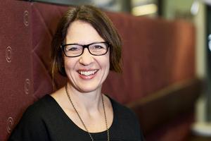 Christina Forsberg, ny generaldirektör för CSN.