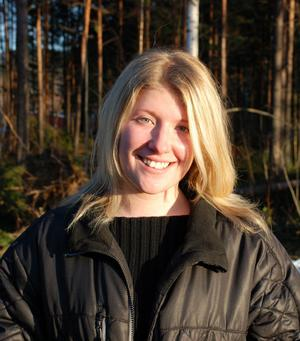 Här är tjejen som ska leda det i Kristdemokratiska Ungdomsförbundet (KDU) i Dalarna - Elina Olsen-Huokko.