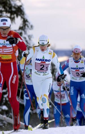 IFK Moras Sofia Bleckur kör världscupen i Otepää, Estland, i helgen. Hon är en av totalt sex aktiva i truppen som har dalaanknytning.