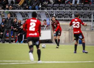 Brwa Nouri spelade från start i seriespel med ÖFK för andra gången.